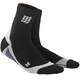 cep Short Running Socks Men grey/black